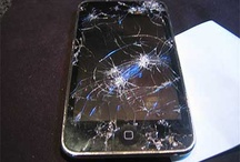Broke i-phone screen fix / by Aubrey