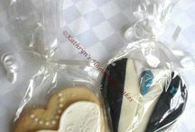 Decorated Cookies and Wedding Favours