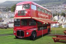 The Cookie Bar Bus / Route master bus mobile pop-up Cookie Bar!