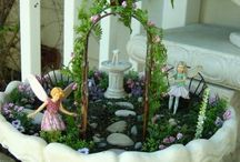 Fairy Garden Ideas / by Heather Hermann