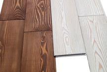 Стеновые панели деревянные / Стеновые панели лиственница, разнодлинка, толщина 14мм, ширина 110мм, длина 294-1794мм, кол-во кВ.м. в упаковке – 1,96 кв.м., брашированные, шлифованные, бейц.