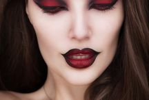 Halloween / Vampire make up designs