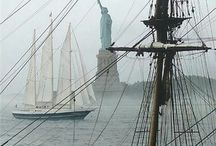 Old sailing ships / by Robert Thompson