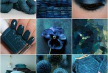 Moodboard Royal Blue