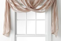 Curtains and window dressing