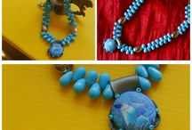 My Handmade Ceramic, Polymer and Wire Jewelry Creations / by Anita Bora