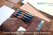 Custom Padfolio / Custom Padfolio - The Perfect Gift for Employees