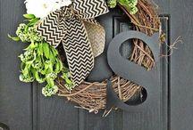 Wreaths / by Tiffany Bowman