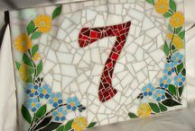 House Number Mosaics