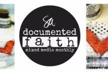 Documented Faith 2018 Mixed Media Monthly