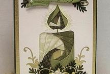 Cards--Iris and Tea Bag Folding