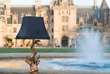 Introducing Exclusive Biltmore Collection / We partnered with Biltmore located in Asheville, North Carolina to design one of a kind lamps for the new Biltmore Collection. Elegant lighting and accessories inspired by the estate's legacy of timeless style.