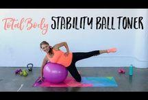 esercizi con palla