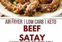Low Carb or Keto Recipes