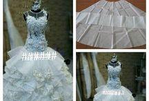 patron robe mariée et soirée
