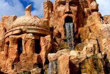 Theme Park Projects / Theme park rides and projects from all around the world. Amazing rockwork and water features.