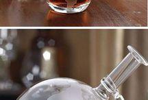 Glazen globe / Globe