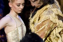 Masks / Masks worn during productions in Birmingham Royal Ballet's repertory