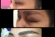 Eyebrow embroidery by me