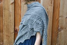 ARK Designs - LACE / knitting patterns by Andrea Rangel that include lace details