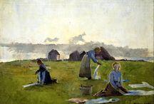Harriet Backer / Norwegian female painter