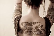Tattoos / by Tina Henry