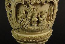 Carved ivory