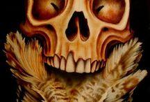 Bones, Muscles, Organs and Skulls