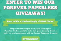 Giveaways! / by PaperlessKitchen.com