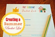 Summer Vacation Planning / Tools and tips for planning the best summer ever!