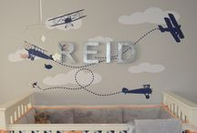 Let's Go Flying! Airplane & Hot Air Balloon Nurseries ✈️ / Let's go flying for with these modern nurseries... hot air balloon and airplane nursery inspiration.