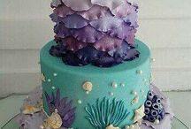 Sea theme cakes