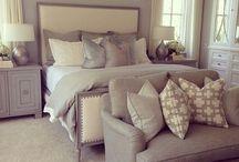 Master Bedroom / Interior design inspiration for our master bedroom.