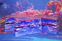 Coral Reef Swirl Soap