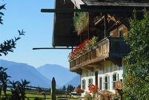 Alpen Traumhäuser und Interieur