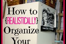 organizing / by Alicia Norman-Hill