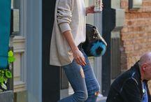 cashmere, jeans