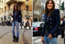 Boyfriend jeans t shirt (jacket) and ankle boots