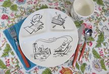 Vintage Patio Party / Retro party, camping, and picnic dishes. Patio decorations, summer entertaining... everything you need to add some vintage flair to your summer parties!