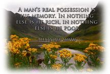 Scottish Quotes / Great quotes by famous Scots or about Scotland