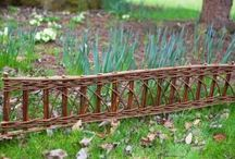 Screening, Fencing and Hurdles / Willow, hazel, bamboo screening fencing and hurdles / by Primrose