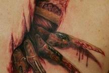 Tattoos d'horreur/ Horror related Tattoos