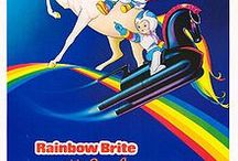 Rainbow Brite / The real Rainbow Brite from the 80's not some new redo or naming a board Rainbow Brite just to pin rainbows. Rainbow Brite was one of my favorite characters growing up and I love reminiscing.