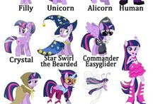 Mane Six's All Forms