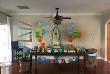 Surf beach summer party  decor...Facebookhttps://m.facebook.com/HappyDetail. Happy Detail / https://m.facebook.com/HappyDetail