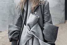 Grey mood board