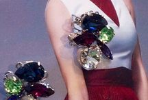 Fashion Jewellery / Cluster earrings