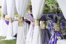 Tent: Purple Inspiration / Purple can be a soft elegant color or a bold bright color. This board has some great examples of the use of purple in all its glory.