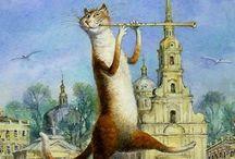 коты румянцева
