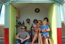 Shed to Beach Hut Conversion! / by Rebecca Booth